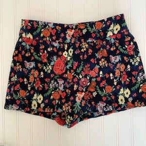 Zara Multicolored Trafaluc collection shorts